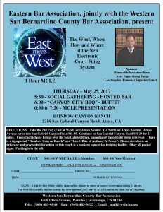 East Meets West Flyer