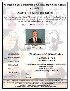Ethics MCLE Flyer