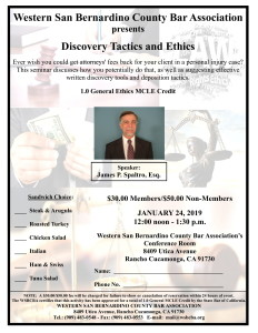 Ethics MCLE Flyer IVAMS Spaltro-1