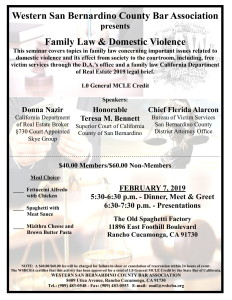 WSBCBA MCLE - Family Law & Domestic Violence-1