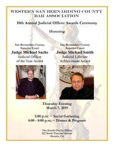 10th Annual Judicial Officer Awards Ceremony Invitation-1