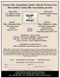 WSBCBA May 16, 2019 - East Meets West MCLE-1